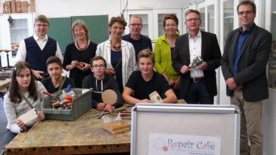 Streiflichter vom 19.9.2018: Repair-Café im Technikraum der Liebfrauenschule Nottuln